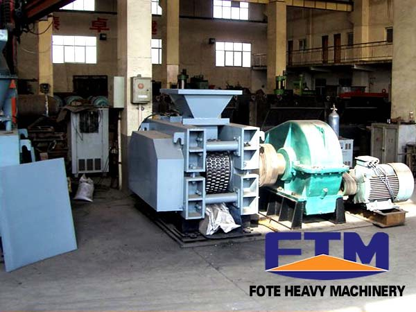 small briquetting machine