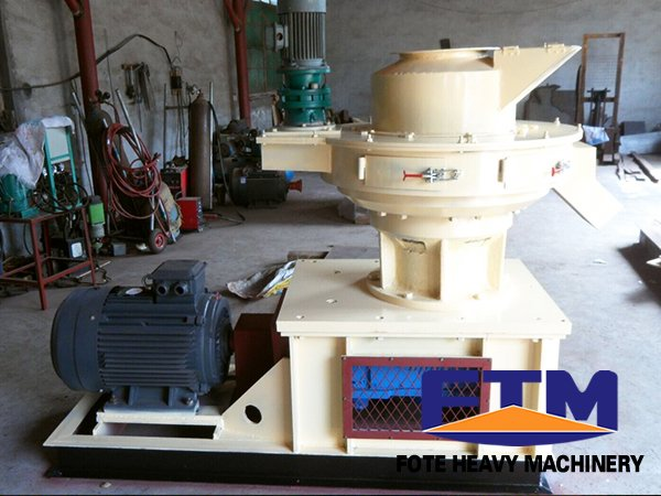 saw dust pellet machine