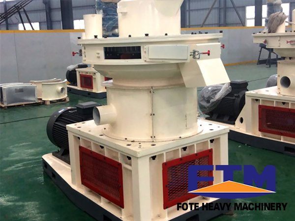 wood particle pellet machine