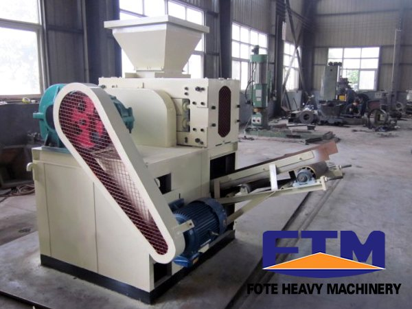 mineral powder briquette making machine